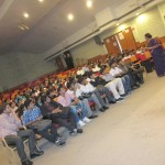 Addressing a student community